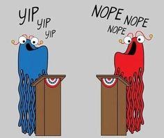 Debate, exactly like this.