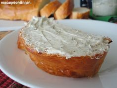 Boursin Cheese Spread aka Garlic Herb Spread and Chewy French Bread. Cheese Recipes, Bread Recipes, Cooking Recipes, Easy Recipes, Fresh Bread, Sweet Bread, Boursin Cheese, Garlic Cheese, Homemade French Bread