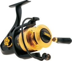 """""""solid performer. smooth and easy to use drag. Great for both fresh and saltwater fishing."""" -customer review of the Penn Spinfisher SSV Spinning Reels"""