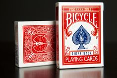 bicycle cards - rider back professional
