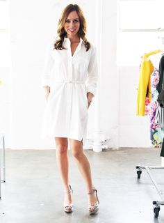 A-Z: How To Wear the Timeless Shirtdress Trend