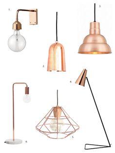 High & Low: Copper Lighting Fixtures