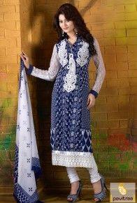 Blue Color Actress Urvashi Rautela Party Wear Dress #salwarsuit, #bollywooddress more: http://www.pavitraa.in/catalogs/indian-celebrity-urvashi-rautela-salwar-kameez-suits/?utm_source=rn&utm_medium=pinterestpost&utm_campaign=27jun