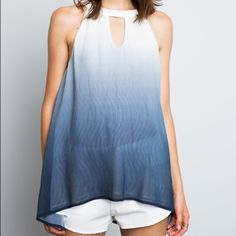 2x Host Pick!    Ombre Layered Tank Top Ethereal. Perfect with all your summer outfits, this top is classic yet modern. Polyester. Lined. mockingbird + poppy Tops Tank Tops