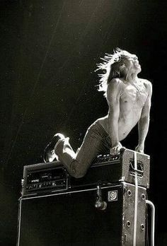 Iggy Pop born James Newell Osterberg in 1947 No Wave, Iggy Pop, Bowie, Iggy And The Stooges, Band Posters, Rock Posters, Music Icon, Post Punk, Classic Rock