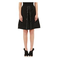 Proenza Schouler Grommet-Embellished A-Line Skirt at Barneys New York High Fashion, Womens Fashion, Fashion Trends, Black A Line Skirt, Embellished Skirt, Barneys New York, A Line Skirts, High Waisted Skirt, Cool Outfits