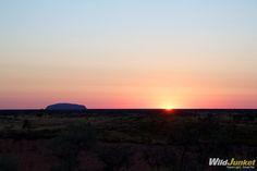 Photoblog: Sunrise in Uluru, Australia