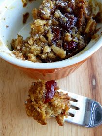 Cookin' Cowgirl: Individual Pumpkin Cranberry French Toast Casseroles with Nut Praline Topping