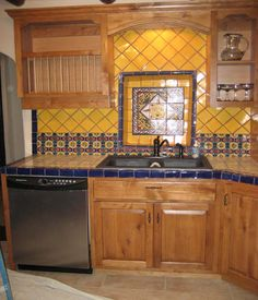southwest kitchen artwork ideas 71 best images hacienda dining style cabinets farmhouse modern kitchens rustic