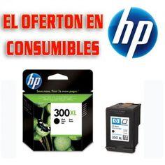 Cartucho de tinta original HP 300XL (CC641EE)   Tinta: Negra   Rendimiento: 600 páginas