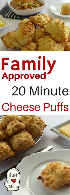 Quick and Easy Cheese Puffs | Basic Ingredients | Kid Approved | Delicious