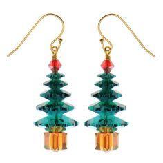 Rockefeller Christmas Tree Earrings - Exclusive Beadaholique Jewelry Kit
