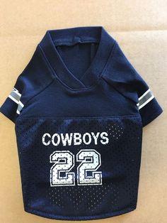 Cowboys T Shirt Mesh PamPet Football Dog Pet Jersey  PamPet da00b5f54