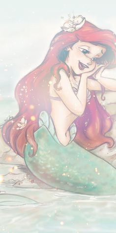 Ariel Wallpaper, Little Mermaid Wallpaper, Whats Wallpaper, Mermaid Wallpapers, Disney Phone Wallpaper, Phone Wallpapers, Mermaid Wallpaper Iphone, Disney Princess Ariel, Disney Princess Drawings