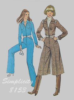 Vintage Simplicity 8153 Sewing Pattern Misses by knightcloth