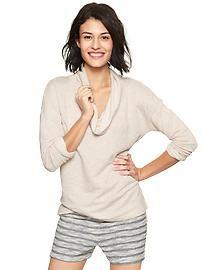 Cowlneck sweatshirt