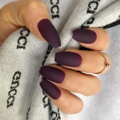 Wholesale Coffin Fake Nails Matte Wine Red Frosted Press On Nails Coloured White Black Peacock blue False Nails 15 Colors Item Type: False Nail Nail Width: Type: Full Nail Tips Nail Length: Model Number: kit Quantity: 24 nails Coffin Nails Matte, Acrylic Nails, Acrylics, Nail Length, Nagel Hacks, Nail Sizes, Clean Nails, Nagel Gel, Gel Nails