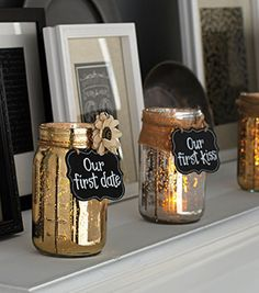 Memory Mason Jars from Joann.com