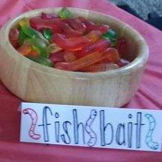 As-is for kids | soaked in vodka for adults | fish bait nautical snack