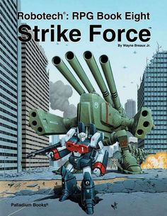 Robotech® Strike Force Sourcebook, 1995 Edition - Palladium Books | Robotech RPG | DriveThruRPG.com