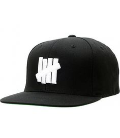 6495f68895d Undefeated Undftd 5 Strike Snapback Hat (Black)http   hatstash.com.  HATSTASH - Shop For Streetwear Hats ...