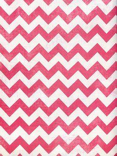 Hot Pink Chevron Printed Photo Background / 2639
