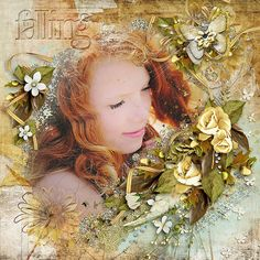 Artsy Blends 4 by Angelclaud Artroom #  Falling Kit with Bonus Clusters by Studio Rosey Posey