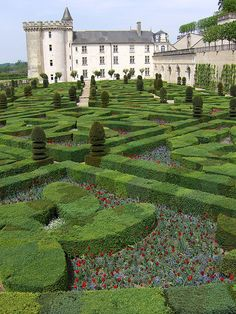 "This only begins to hint at how amazing is Villandry.  While it's known primarily for its gardens, this ""little"" chateau is completely charming in its own right.  BTW, thanks to Joe Shabotnik for posting this image on flickr.com just so I could share it with you. :)"