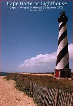 Cape Hatteras Lighthouse -- August 1994