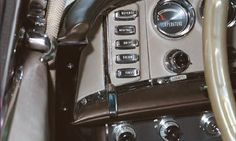 1960 Rambler with left-handed, push-button, gear shifting.