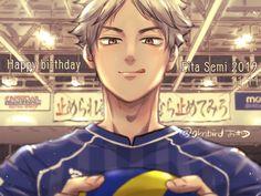 Haikyuu Season 3, Haikyuu Fanart, Haikyuu Anime, Haikyuu Volleyball, Volleyball Anime, Semi Eita, Banana Bus Squad, Haikyuu Characters, Kenma