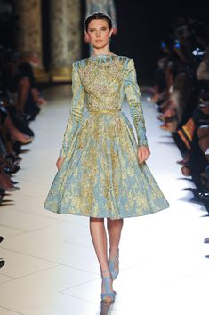 Couture Fall 2012, Elie Saab www.stylebistro.com