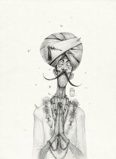 Sketchtober | 018by BladMoran