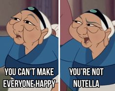 The best advice that's ever been given. | 17 Pictures Disney And Nutella Lovers Will Think Are Hilarious