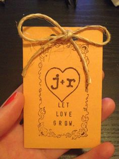 DIY flower seed packet favors.. what else can i do? :  wedding diy favors seed packets Favorsfinal
