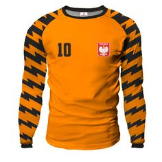 ARROW Goalkeeper Jersey With Custom Name And Number orange