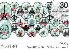 Cabochon+Vorlagen+Cabochonbilder+PARIS+von+Planet+Mallika+auf+DaWanda.com