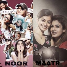 Which movie do you like to watch...??? #Maatr or #Noor ? Share your valuable comments with us