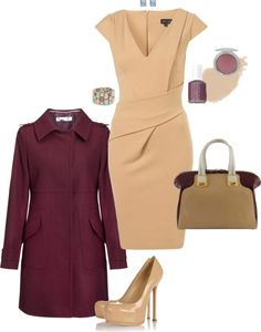 """fall business outfit"" by heather610 on Polyvore"