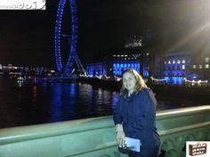 As cores da London Eye, Londres Foto: Marilia Ghelli Visite: www.malaparadois.com - Dicas de Viagens & Lifestyle em um único site! www.malaparadois.com - Tips on Travel and Lifestyle on a single site!
