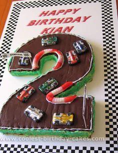 Ideas for race car cakes
