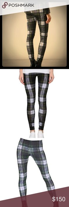 Alexander McQueen Plaid Leggings Sz S - Never Worn Alexander McQueen Plaid Leggings Sz S - Never Worn - These were Purchased as a gift from Neiman Marcus but never used! I have the tags but they are not attached. Alexander McQueen Pants Leggings