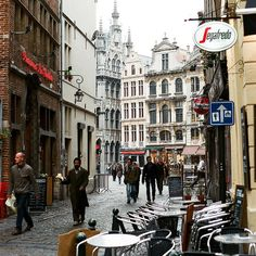 Brussels, the capital of Belgium and the European Union