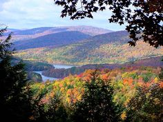 The Catskills are never more beautiful than in the fall....