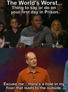 "When he was a model prisoner. | Proof That Colin Should Have Gotten All The Points On ""Whose Line"""