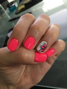 What Christmas manicure to choose for a festive mood - My Nails Fancy Nails, Diy Nails, Pretty Nails, Best Summer Nail Color, Summer Beach Nails, Pedicure Ideas Summer, Summer Holiday Nails, Bright Summer Nails, Summer Pedicures