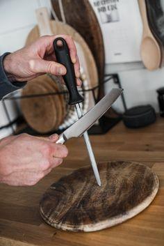 Messer am Wetzstahl abziehen Food Ideas, Simple