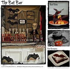Halloween Bat Bar and Bat Bites!