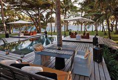 Beach side, #pool, #Backyard