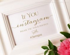 free instagram format for wedding sign - Google Search